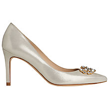Buy L.K. Bennett Foley Court Shoes, Soft Gold Online at johnlewis.com