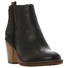 Buy Dune Poppie Block Heeled Ankle Boots Online at johnlewis.com
