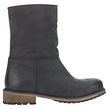 Buy Jigsaw Georgia Blocked Heeled Calf Boots Online at johnlewis.com