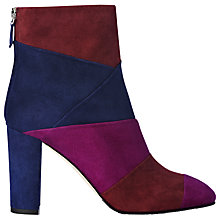 Buy L.K. Bennett Fianna Block Heeled Ankle Boots, Multi Online at johnlewis.com