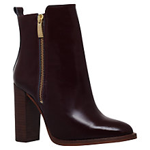 Buy Kurt Geiger Denning Contrast Side Zip Ankle Boots Online at johnlewis.com