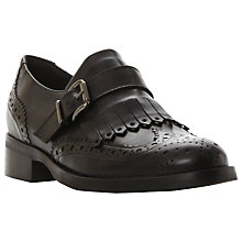 Buy Dune Fabia Fringe Detail Brogue Monk Shoes Online at johnlewis.com