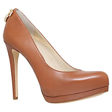 Buy MICHAEL Michael Kors Hamilton Pump Stiletto Court Shoes, Tan Online at johnlewis.com