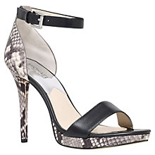 Buy MICHAEL Michael Kors Sienna Ankle Strap Stiletto Heeled Sandals Online at johnlewis.com