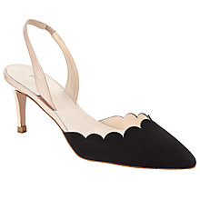 Buy John Lewis Carmel Scallop Detail Slingback Court Shoes Online at johnlewis.com