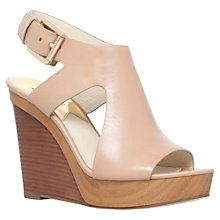 Buy MICHAEL Michael Kors Josephine Wedge Heeled Sandals Online at johnlewis.com