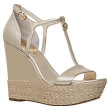 Buy MICHAEL Michael Kors Kerri Wedge Heeled Sandals Online at johnlewis.com