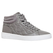 Buy MICHAEL Michael Kors Paige Hi Top Trainers Online at johnlewis.com