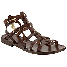 Buy Somerset by Alice Temperley Lyng Gladiator Sandals, Brown Online at johnlewis.com