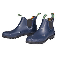 Buy Barbour Chelsea Short Wellington Boots Online at johnlewis.com