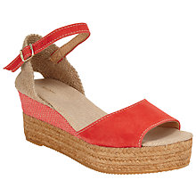 Buy John Lewis Kalla Wedge Heeled Espadrilles Online at johnlewis.com
