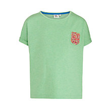 Buy Kin by John Lewis Girls' Hundreds and Thousands T-Shirt, Green Online at johnlewis.com
