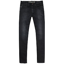 Buy Denham Bolt Jeans, Black Online at johnlewis.com