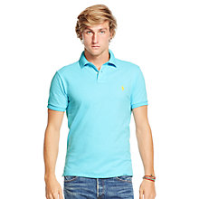 Buy Polo Ralph Lauren Short Sleeve Polo Shirt, Hammond Blue Online at johnlewis.com