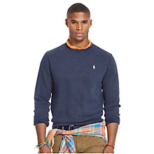 Buy Polo Ralph Lauren Sweater, Winter Navy Heather Online at johnlewis.com