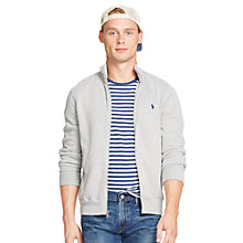Buy Polo Ralph Lauren Long Sleeve Front Zip Top, Flagstone Heather Online at johnlewis.com