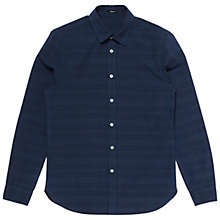 Buy Denham Ellis Dis Shirt, Indigo Online at johnlewis.com