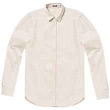 Buy Denham Ellis Shirt, Ecru Online at johnlewis.com
