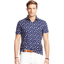 Buy Polo Ralph Lauren Sailboat Polo Shirt, Blackwatch Sail Online at johnlewis.com