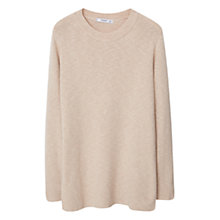 Buy Mango Flecked Cotton Jumper Online at johnlewis.com