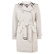 Buy Mint Velvet Cotton-Blend Trench Coat Online at johnlewis.com