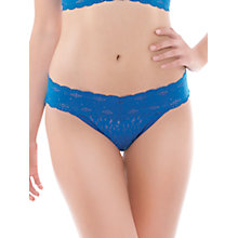 Buy Wacoal Halo Bikini Briefs, Deep Sea Blue Online at johnlewis.com