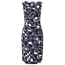 Buy Phase Eight Floral Lyssa Dress, Navy/White Online at johnlewis.com