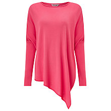 Buy Phase Eight Melinda Asymmetric Jumper, Lobster Pink Online at johnlewis.com