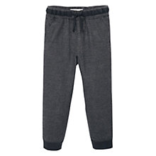 Buy Mango Kids Boys' Fleck Trousers, Dark Grey Online at johnlewis.com