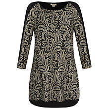 Buy Celuu Diane Jacquard Tunic, Grey Online at johnlewis.com