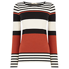 Buy Oasis Multi Stripe Jumper, Multi Online at johnlewis.com