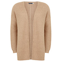 Buy Mint Velvet Cocoon Textured Cardigan, Oatmeal Online at johnlewis.com
