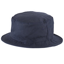 Buy JOHN LEWIS & Co. Reversible Bucket Hat, Navy Online at johnlewis.com