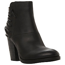 Buy Steve Madden Raglyn Block Heeled Ankle Boots Online at johnlewis.com