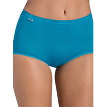Buy Sloggi 3 Pack Maxi Briefs, Green Light Combo Online at johnlewis.com