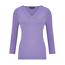Buy Viyella Pleat Detail Jersey Top Online at johnlewis.com