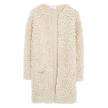 Buy Mango Boucle Cardigan, Sand Online at johnlewis.com