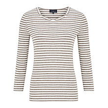 Buy Viyella Twist Neck Stripe Top Online at johnlewis.com