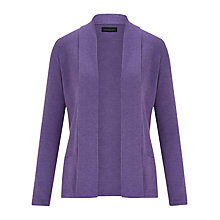 Buy Viyella Merino Wool Cardigan, Purple Online at johnlewis.com