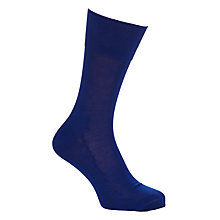 Buy Falke Tiago Socks, Cobalt Online at johnlewis.com