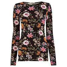 Buy Oasis Opium Print Top, Multi Online at johnlewis.com