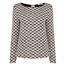 Buy Oasis Jacquard Jumper, Multi Online at johnlewis.com