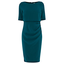 Buy Coast Beth Crepe Dress, Teal Online at johnlewis.com