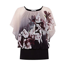 Buy Coast Winter Lily Calla Top, Multi Online at johnlewis.com