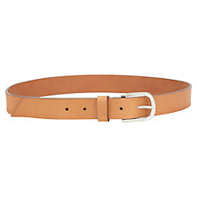 Buy Jigsaw Simple Stitch Jeans Belt Online at johnlewis.com