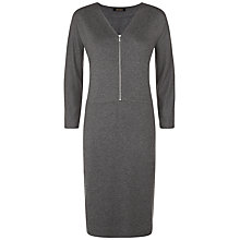 Buy Jaeger Jersey Zip Dress Online at johnlewis.com