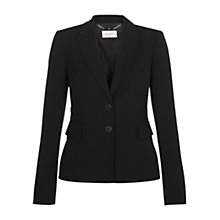 Buy Hobbs Adaline Jacket, Black Online at johnlewis.com
