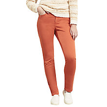 Buy Violeta by Mango Slim-Fit Nori Jeans, Orange Online at johnlewis.com
