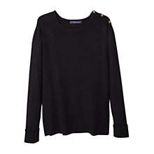 Buy Mango Decorative Button Jumper Online at johnlewis.com