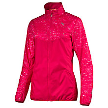 Buy Puma Night Cat Full Zip Running Jacket, Pink Online at johnlewis.com